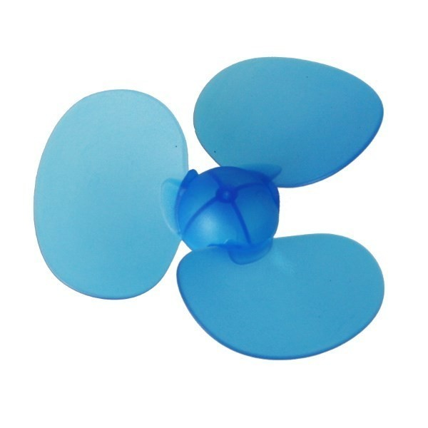 90mm Blue Three Blade Propeller