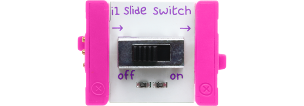 littleBits Slide Switch