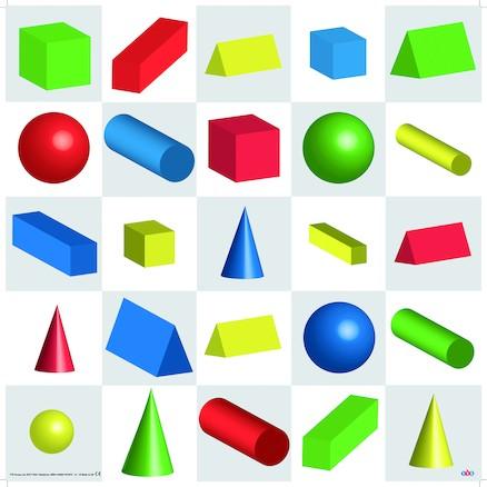 Bee-Bot Formen/Farben/Grössen 3D-Spielfeld