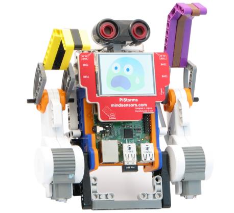 PiStorms Starter Kit for Raspberry Pi and EV3