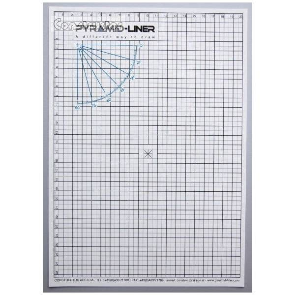 Pyramid Liner A4