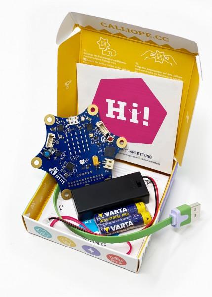 Calliope mini 2.0 mit Flash-Speicher und Bluetooth®