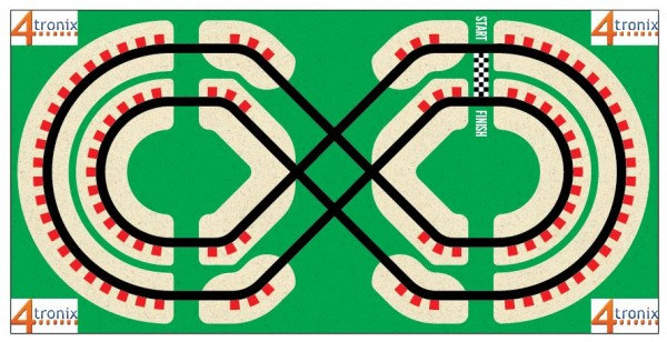 Robot Line Follower Vinyl Race Track(small)
