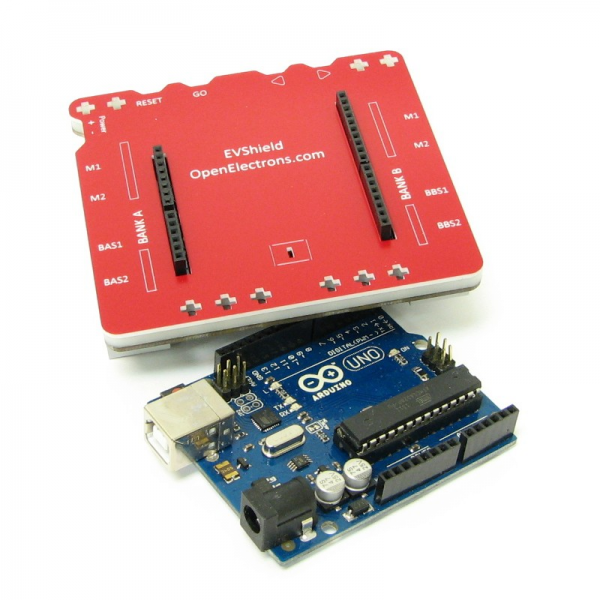 EVShield for Arduino Duemilanove or Uno