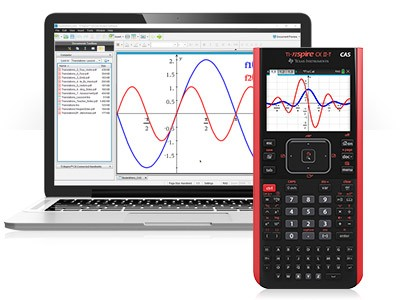 Texas Instruments TI-Nspire CX II-T CAS (palmare + software)
