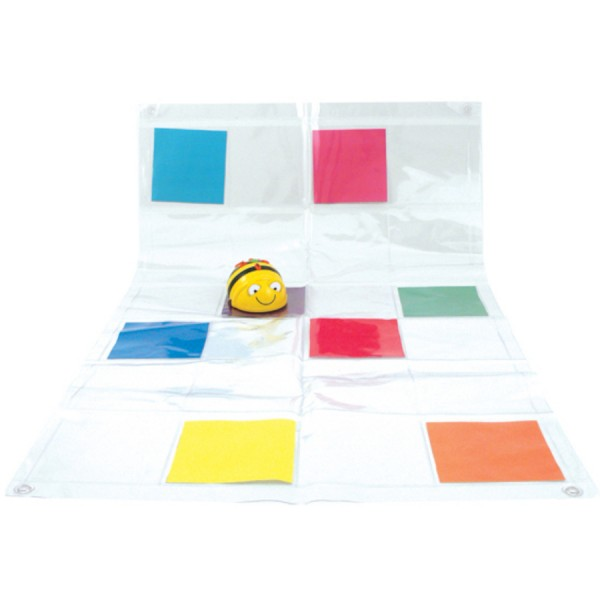 Bee-Bot® and Blue-Bot® Transparent Pocket Mat