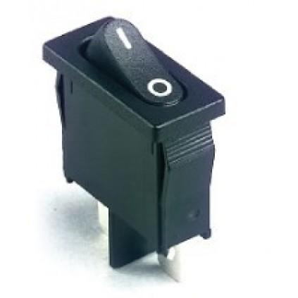 SPST Black 'I/O' Actuator
