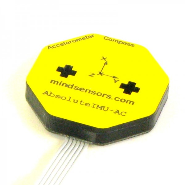 Multi-Sensitivity Accelerometer and Compass for EV3/NXT