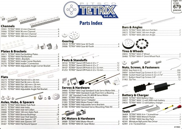 TETRIX MAX Core Set
