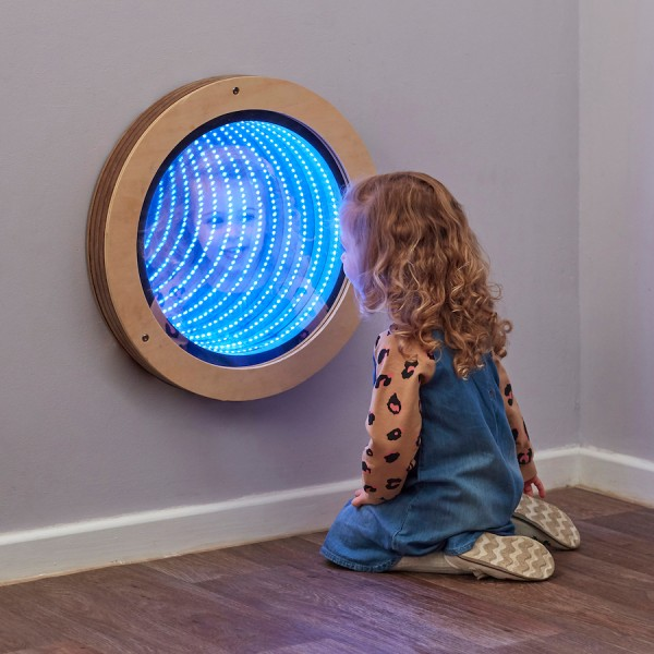 Light up Mirror Infinity Circle