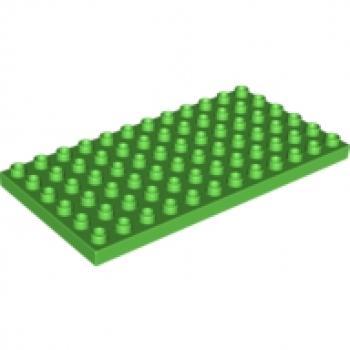 LEGO 6x12 Platte Grün