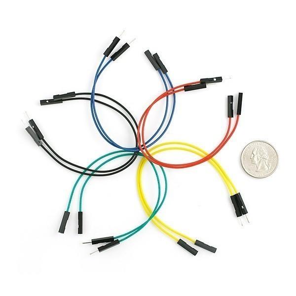 Jumper Wires Premium M/F, pack of 10