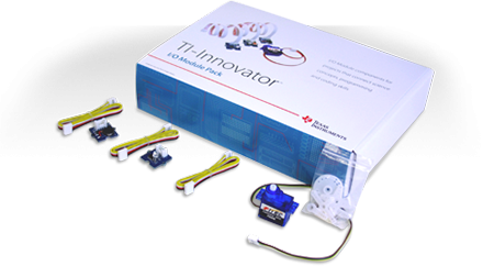 TI-Innovator™ I/O Module Pack