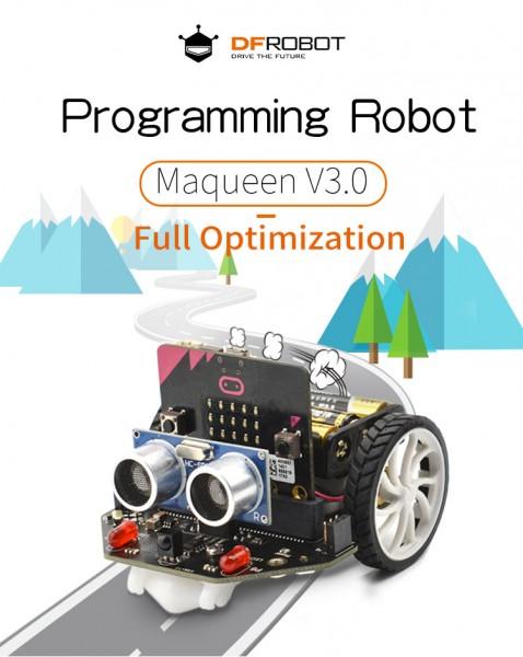 Maqueen micro:bit Educational Programming Robot Platform