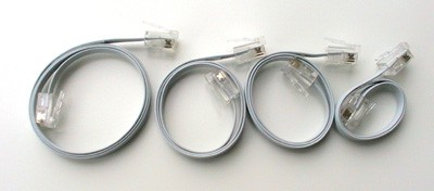 Flexi-Cables for NXT/EV3 (Short Length)