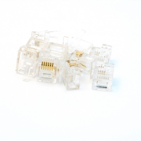 NXT/EV3 Compatible (male) Plugs - 10 pack