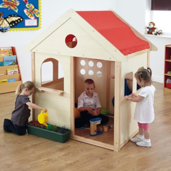 Indoor Wooden Playhouse