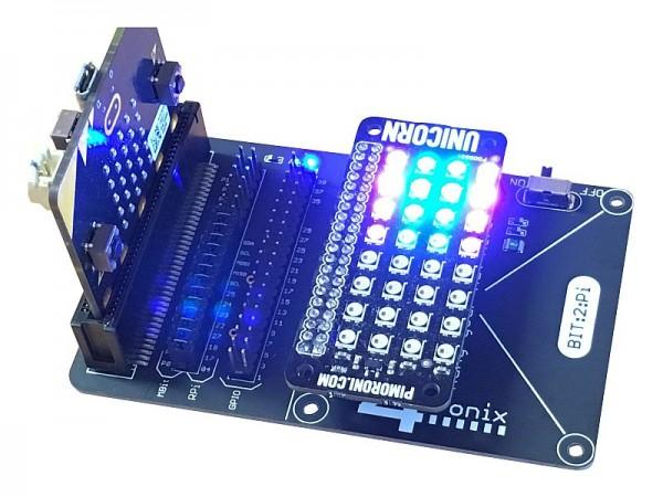 Bit:2:Pi BBC Micro:Bit adaptor for Raspberry Pi Addons