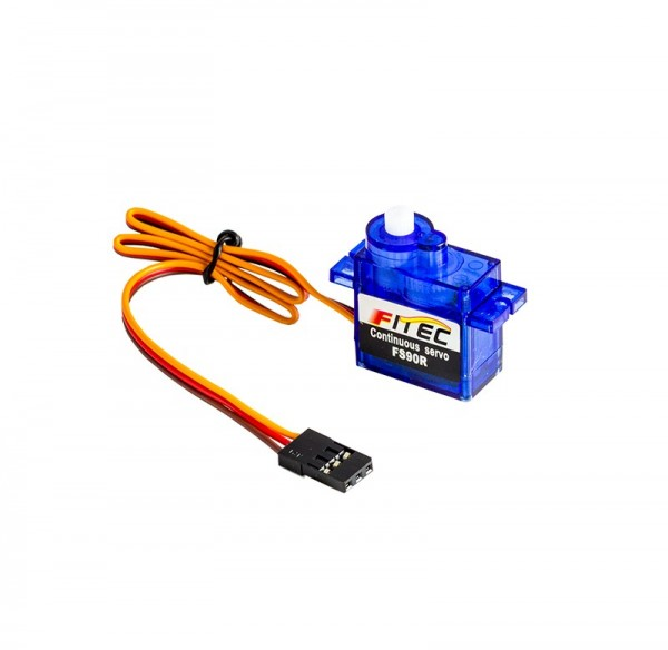 Mini 360 Degree Continuous Rotation Servo FS90R