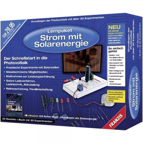 Lernpaket: Strom mit Solarenergie