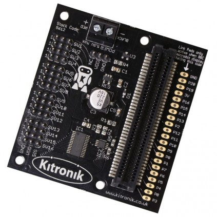 Kitronik 16 Servo Driver Board for the BBC micro:bit