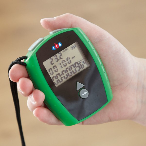 Rechargeable Stopwatch with Speed Tracker 10pk