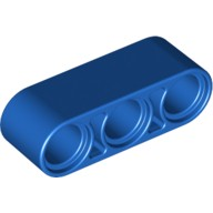 LEGO Liftarm 1x3-Blue