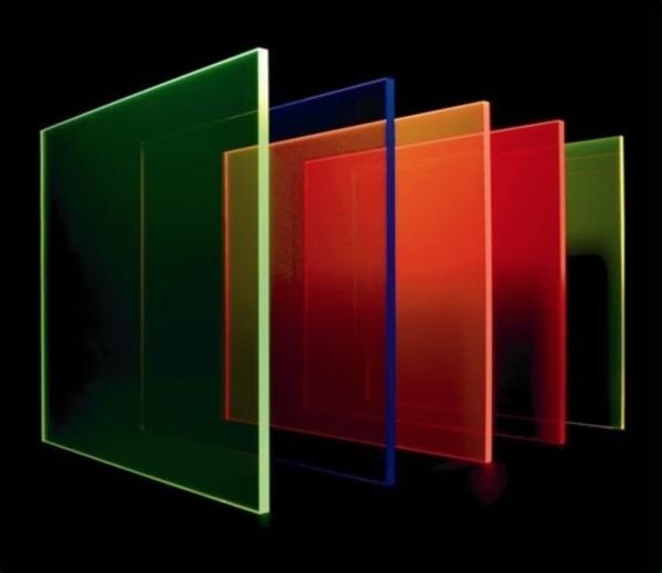 Fluorescent Perspex Sheet 3mm x 297mm x 210mm (A4) Bulk Pack