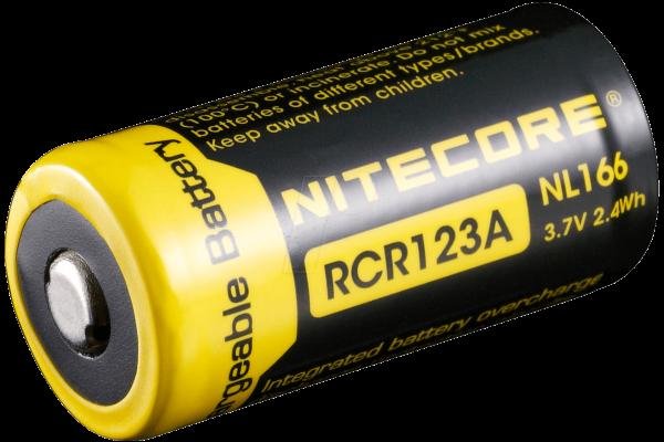 NC NL166 Industriezelle, Li-Ion, 16340, 3,7 V, 650 mAh, Flat Top