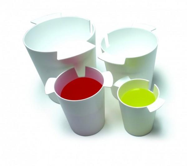 Contenitore per calcolare i volumi (4 recipienti)