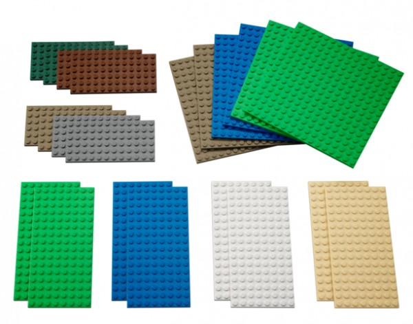 Kleine Bauplatten