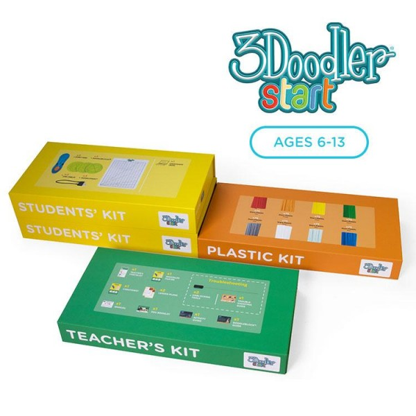 3Doodler EDU Start Learning Pack, 6 Pens