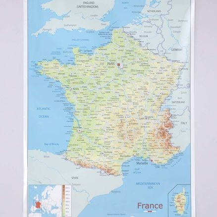Bee-Bot France Map Mat