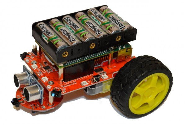 Pi2Go Robot for Raspberry Pi