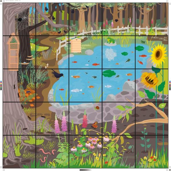 Bee-Bot® Wildlife Garden Matte
