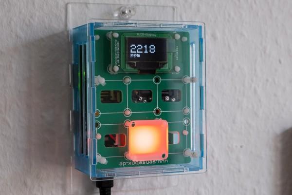 CO2-Ampel Set