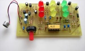 Bausatz 3-Kanal-LED-Lichtorgel